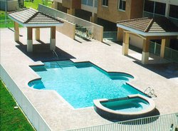 Commercial Pool #007 by Fountain Pools and Water Features