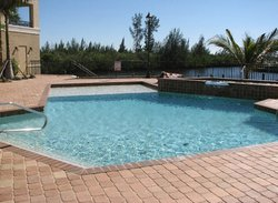 Commercial Pool #057 by Fountain Pools and Water Features