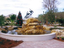 Custom Feature #024 by Fountain Pools and Water Features