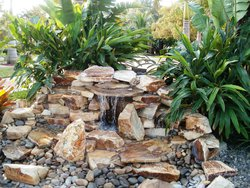 Finishing Touch #014 by Fountain Pools and Water Features