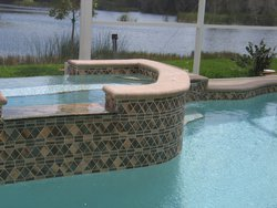 Finishing Touch #029 by Fountain Pools and Water Features