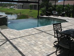 Residential Pool #001 by Fountain Pools and Water Features
