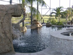 Residential Pool #005 by Fountain Pools and Water Features