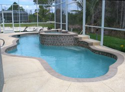 Residential Pool #012 by Fountain Pools and Water Features