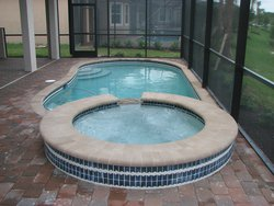 Residential Pool #015 by Fountain Pools and Water Features