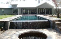 Residential Pool #032 by Fountain Pools and Water Features