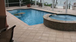Residential Pool #034 by Fountain Pools and Water Features