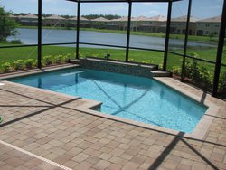 Residential Pool #035 by Fountain Pools and Water Features
