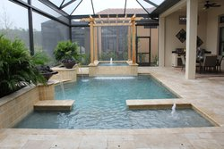 Residential Pool #064 by Fountain Pools and Water Features
