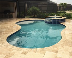 Residential Pool #076 by Fountain Pools and Water Features
