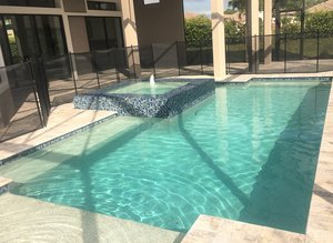 Residential Pool #085 by Fountain Pools and Water Features