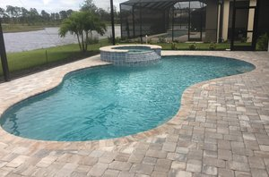 Residential Pool #100 by Fountain Pools and Water Features