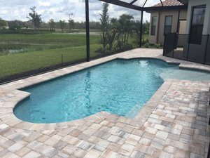 Residential Pool #101 by Fountain Pools and Water Features