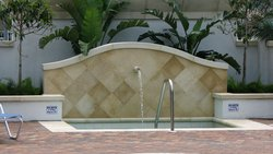 Commercial Pool #019 by Fountain Pools and Water Features