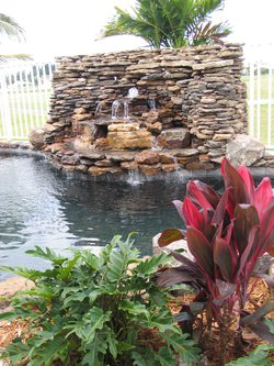 Custom Feature #002 by Fountain Pools and Water Features