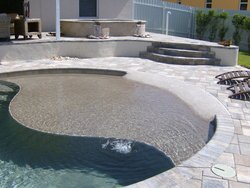 Custom Feature #005 by Fountain Pools and Water Features