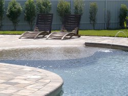 Custom Feature #006 by Fountain Pools and Water Features
