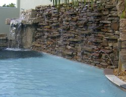 Custom Feature #016 by Fountain Pools and Water Features