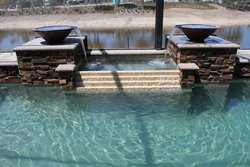 Custom Feature #017 by Fountain Pools and Water Features
