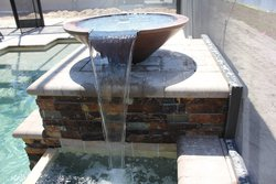 Custom Feature #018 by Fountain Pools and Water Features