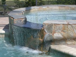 Custom Feature #019 by Fountain Pools and Water Features
