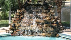 Custom Feature #027 by Fountain Pools and Water Features