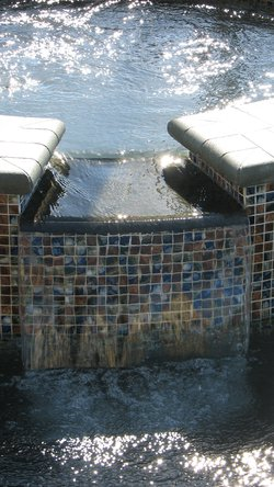 Custom Feature #030 by Fountain Pools and Water Features