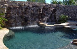 Custom Feature #038 by Fountain Pools and Water Features