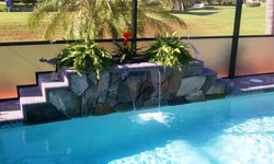 Custom Feature #040 by Fountain Pools and Water Features