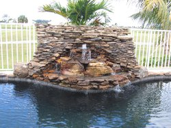 Custom Feature #041 by Fountain Pools and Water Features