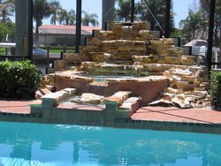 Custom Feature #048 by Fountain Pools and Water Features