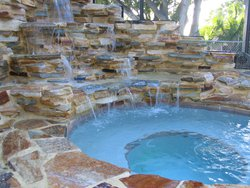Custom Feature #050 by Fountain Pools and Water Features