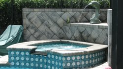 Custom Feature #052 by Fountain Pools and Water Features