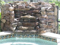 Custom Feature #054 by Fountain Pools and Water Features