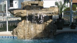 Custom Feature #073 by Fountain Pools and Water Features