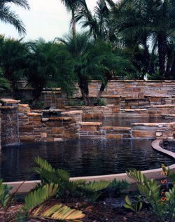Custom Feature #083 by Fountain Pools and Water Features