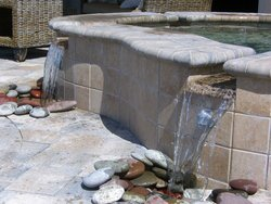 Custom Feature #085 by Fountain Pools and Water Features