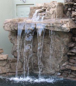 Custom Feature #093 by Fountain Pools and Water Features