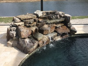 Custom Feature #095 by Fountain Pools and Water Features