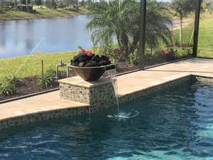 Custom Feature #096 by Fountain Pools and Water Features