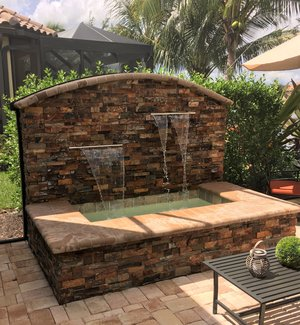 Custom Feature #105 by Fountain Pools and Water Features