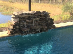 Custom Feature #106 by Fountain Pools and Water Features