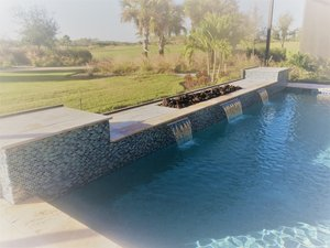 Custom Feature #107 by Fountain Pools and Water Features