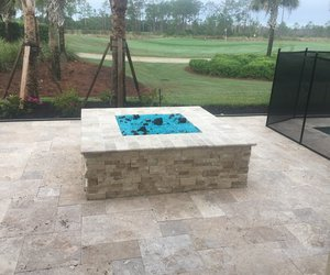 Custom Feature #108 by Fountain Pools and Water Features