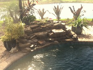 Custom Feature #110 by Fountain Pools and Water Features
