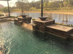 Custom Feature #112 by Fountain Pools and Water Features