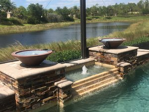 Custom Feature #114 by Fountain Pools and Water Features