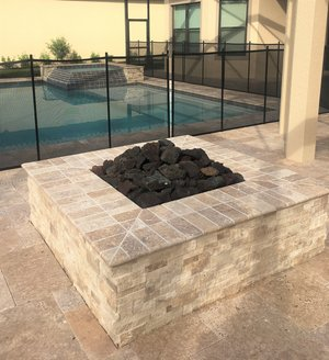 Custom Feature #115 by Fountain Pools and Water Features