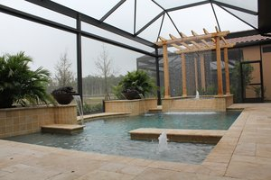 Custom Feature #117 by Fountain Pools and Water Features