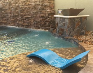 Custom Feature #121 by Fountain Pools and Water Features
